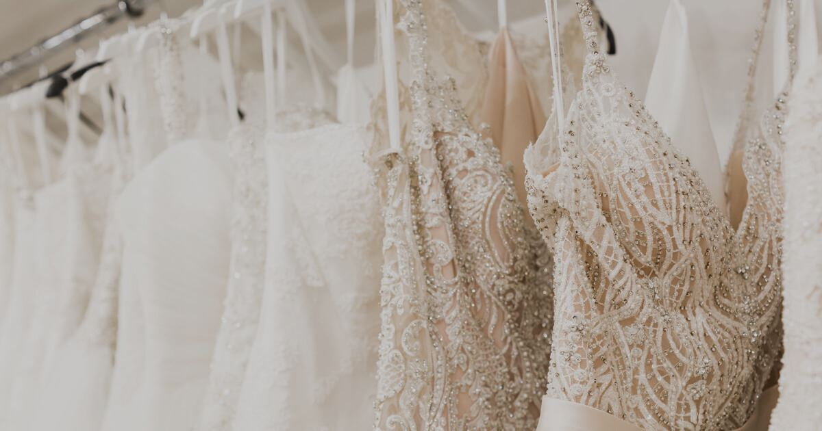 gorgeous, beaded wedding dresses at bri'zan couture in naperville, illinois